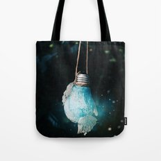 birth of the light Tote Bag