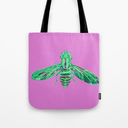 Syrphid Fly Tote Bag