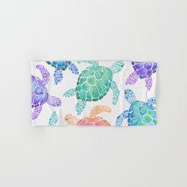 Sea Turtle - Colour Hand & Bath Towel