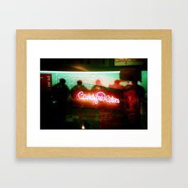 Candy cakes Framed Art Print