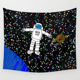 Galactic Ecstasy Wall Tapestry