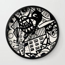 Alley Katz Wall Clock