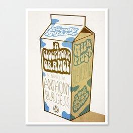 Milk Plus Canvas Print