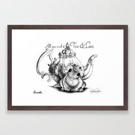 EVANDER Frog Prince Print Framed Art Print