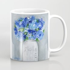 Blue Blossoms Coffee Mug