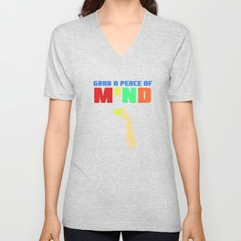 Spread the Love with this Peace of mind Tshirt Design Grab a peace of mind Unisex V-Neck