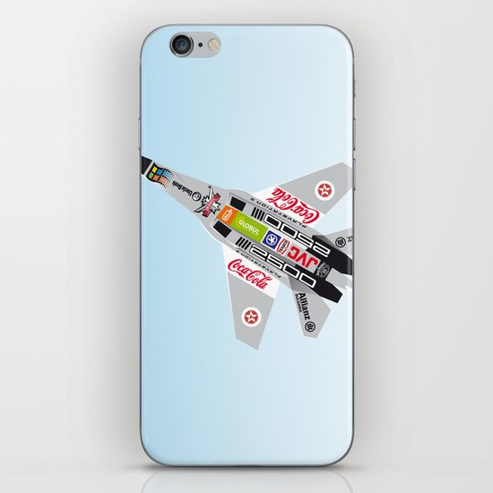 popwarIII iPhone & iPod Skin