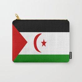 Flag of Western Sahara Carry-All Pouch