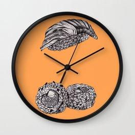 Sushi Pen Fun Art Wall Clock