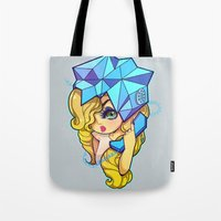 telephone Tote Bags featuring Telephone by Mickey Spectrum