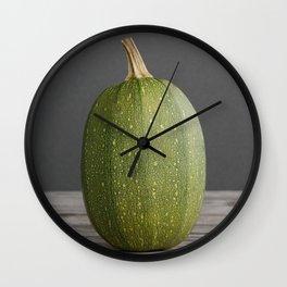 """Spaghetti"" Squash no. 14 -- Still Life Squashes & Potirons Wall Clock"