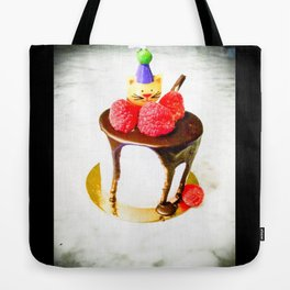 Cat Wishes Tote Bag