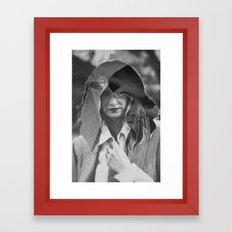 INMYHAIR Framed Art Print