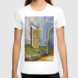 Near-Eastern Palace Interior Portrait by Louis Comfort Tiffany T-shirt