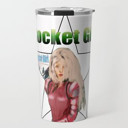 Rocket Girl  Travel Mug