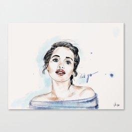 Let go! Canvas Print