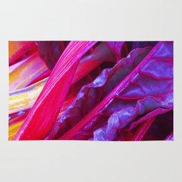 Rhubarb in Purple Rug