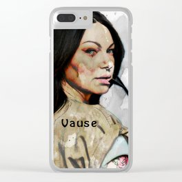 Vause Clear iPhone Case