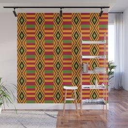 African kente pattern 4 Wall Mural