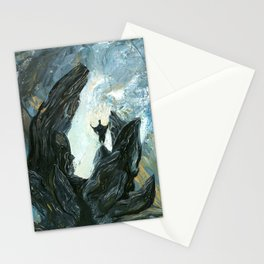 Ritualistic Theatricality Stationery Cards