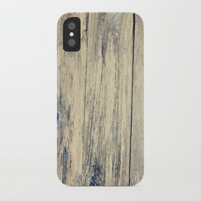 Wood Photography II iPhone Case