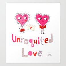 Unrequited Love Art Print
