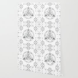 Sacred geometry and geometric alchemy design Wallpaper