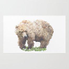 Penrose Tiling Bear Rug