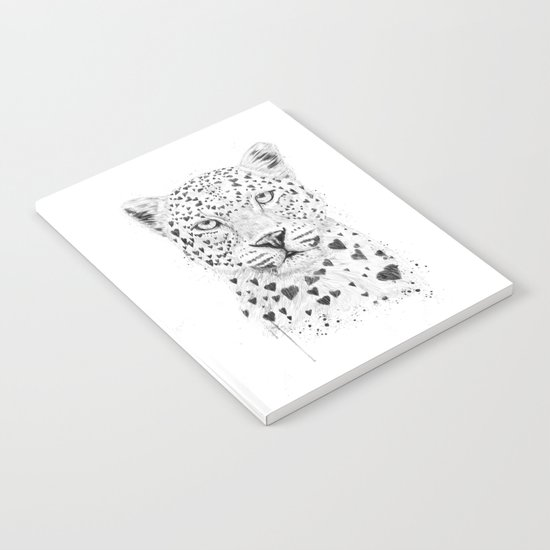 Lovely leopard Notebook