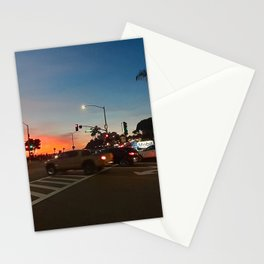Mobil in Laguna Beach Stationery Cards
