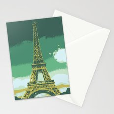 Eiffel Tower Paris Pop Art Stationery Cards