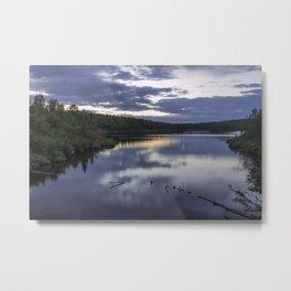 Juno Lake Reflections, BWCA Metal Print