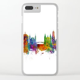Ljubljana Solvenia Skyline Clear iPhone Case