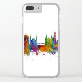 Ljubljana Solvenia Skyline Clear iPhone Case