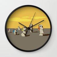 stone Wall Clocks featuring Stone by Matteo Lotti