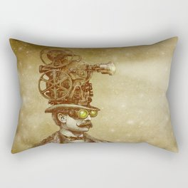 The Projectionist (sepia option) Rectangular Pillow