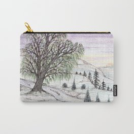 The Lone Willow Carry-All Pouch