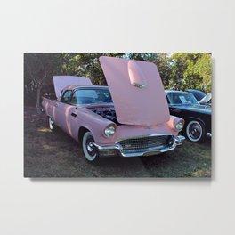 Pink Thinder Metal Print