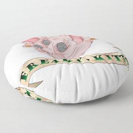 Freaky Kitty Floor Pillow