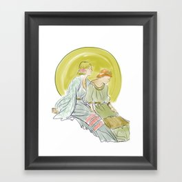 Rising Moon Framed Art Print