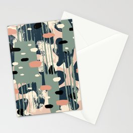 Abstract chaos Stationery Cards