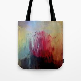 """Release"" Original oil finger painting by Monika Toth Tote Bag"