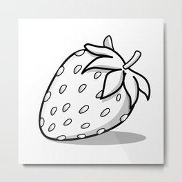 Ghostberry Metal Print