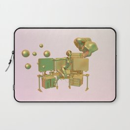Ghost in the Shelly Laptop Sleeve