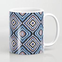 Blue Moroccan Coffee Mug