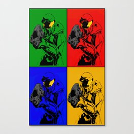 Master Chief Collage Canvas Print