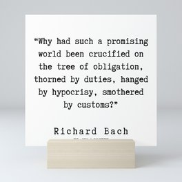 96   | Richard Bach Quotes | 190916 Mini Art Print