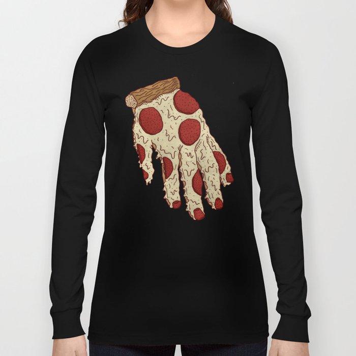 PIZZA HAND Long Sleeve T-shirt