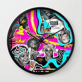 Supreme Boss Queen  Wall Clock