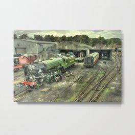 Tornado at Wansford Metal Print
